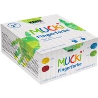 MUCKI Fingerfarbe, 4er-Set, à 150 ml von Kreul Kinder