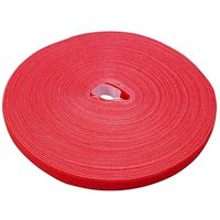 LABEL THE CABLE Klettband ROLL STRAP PRO rot von LABEL THE CABLE