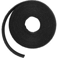 LABEL THE CABLE Klettband ROLL STRAP schwarz von LABEL THE CABLE