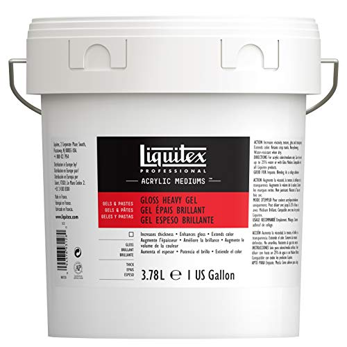 Liquitex 5123 Basics Matt Acrylfarbe, transparent, 20,7 x 20,7 x 21,3 cm von Liquitex