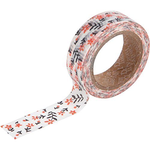 "Love My Tapes ""Wild Flower Washi Tape, Papier, Mehrfarbig, 15 mm x 10 m, 3-teilig von Love My Tapes"