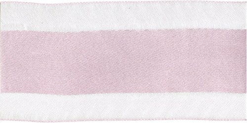 May Arts Sheer mit Satin Zentrum 21/2 x 25 yd. Pink, Acryl, Bunt von May Arts