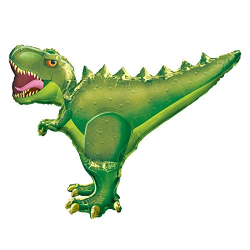 PARTY DISCOUNT NEU Folienballon Dino T-Rex, 91x76 cm von PARTY DISCOUNT