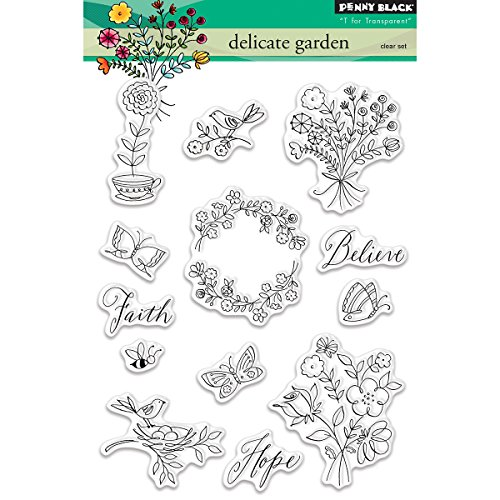 Penny Black Clear Stamps, 12,7 x 17,8 cm von Pennyblack