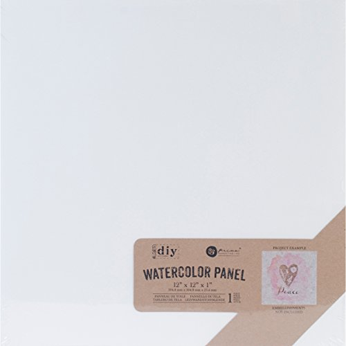 Prima marketingprima Marketing Watercolor Leinwand panel-12-inch X 12 Zoll, andere, Mehrfarbig von Prima Marketing