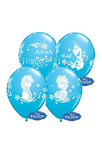 Qualatex 19226 Disney Frozen Luftballons, Karibikblau, 30,5 cm von Qualatex