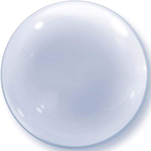 Qualatex 68824 Deko-Blasenballon, transparent, 50,8 cm, 01 Karat von Qualatex