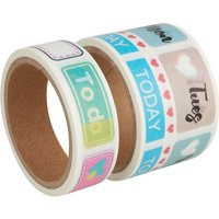 "Washi Tape Set ""Life Planner von Rayher"