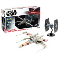 X-Wing Fighter + TIE Fighter von Revell