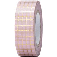 Paper Poetry Tape Gitter gold 15mm 10m Hot Foil von Rico Design