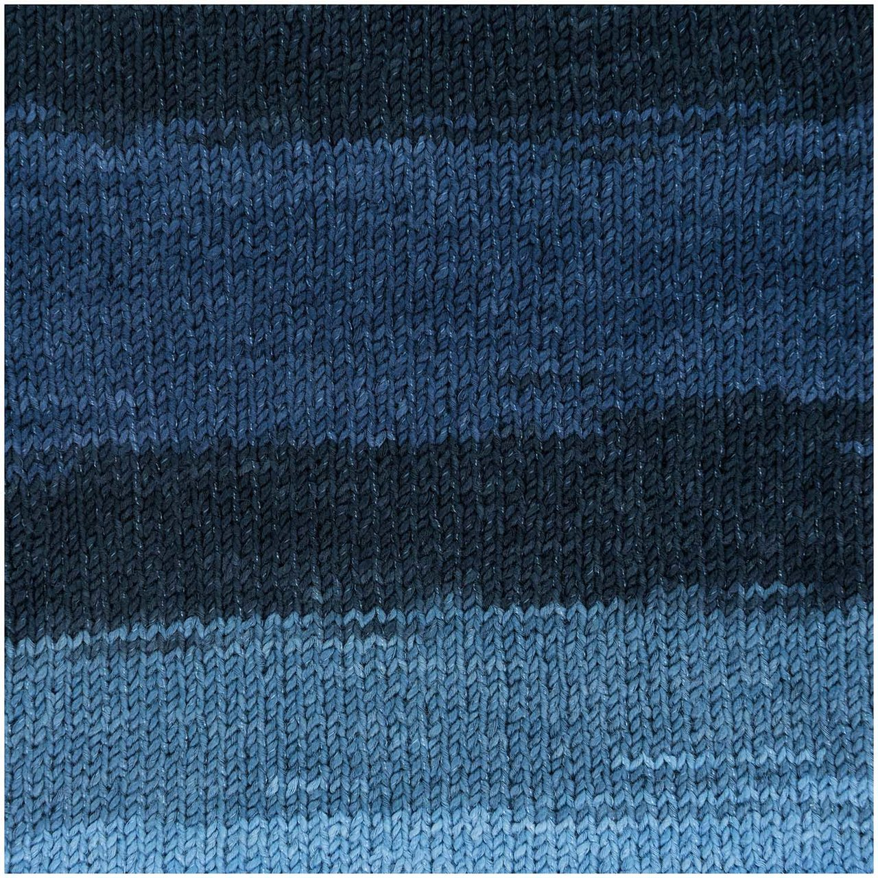Rico Design Creative Cotton Zickzack 50g 117m blau von Rico Design