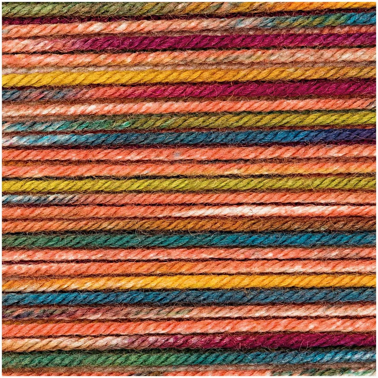 Rico Design Essentials Merino Print dk 50g multicolor von Rico Design