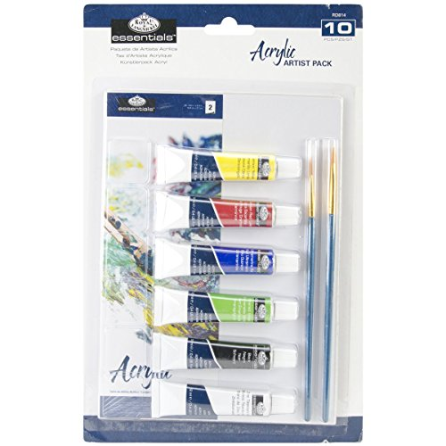 Royal Langnickel RD814 Art und Surface Carded Art Set - Acrylmalerei von Royal Langnickel