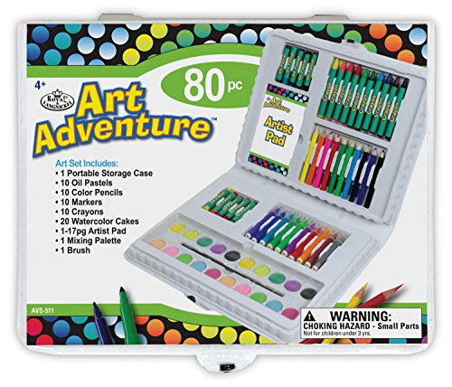 Royal & Langnickel AVS 511 - Art Adventure, 80-teiliges Set von Royal Langnickel