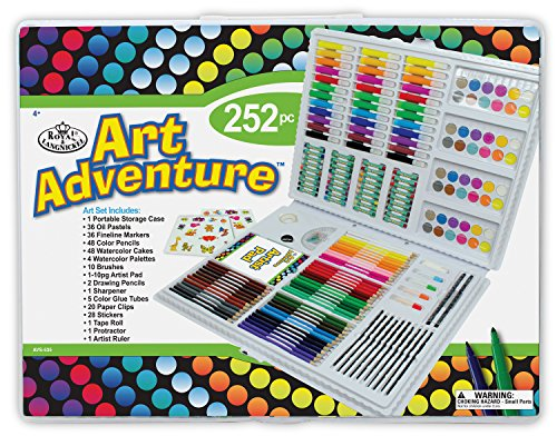 Royal & Langnickel AVS 535 - Art Adventure, 252-teiliges Set von Royal Langnickel