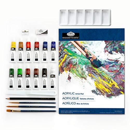 Royal & Langnickel RD844 - Essentials Acrylfarben Art Set von Royal Langnickel