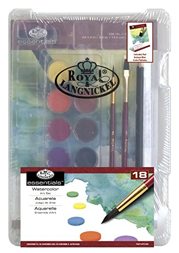 Royal & Langnickel RSET-ART3408 Mini Clearview Wasserfarben Gepresst von Royal Langnickel