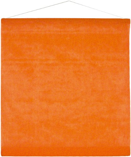 Einfarbiges Deko-Vlies 12m orange von Santex