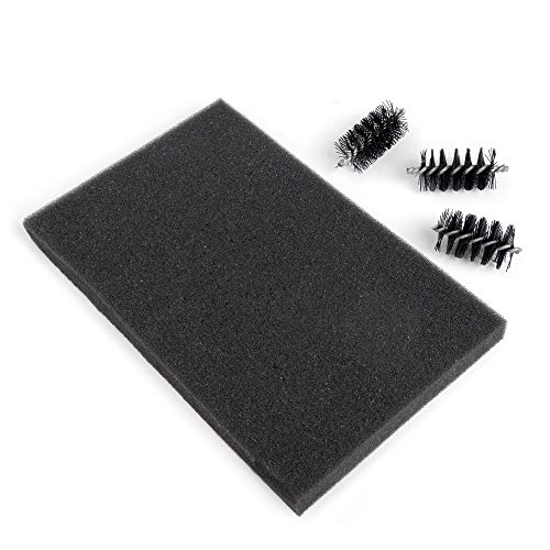 Replacement Die Brush Rollers & Foam Pad von Sizzix