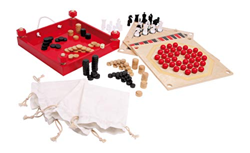 Small Foot 1590 Spielesammlung 5 in 1 von Small Foot