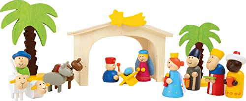 small foot 3945 Holzkrippe Spielset von small foot