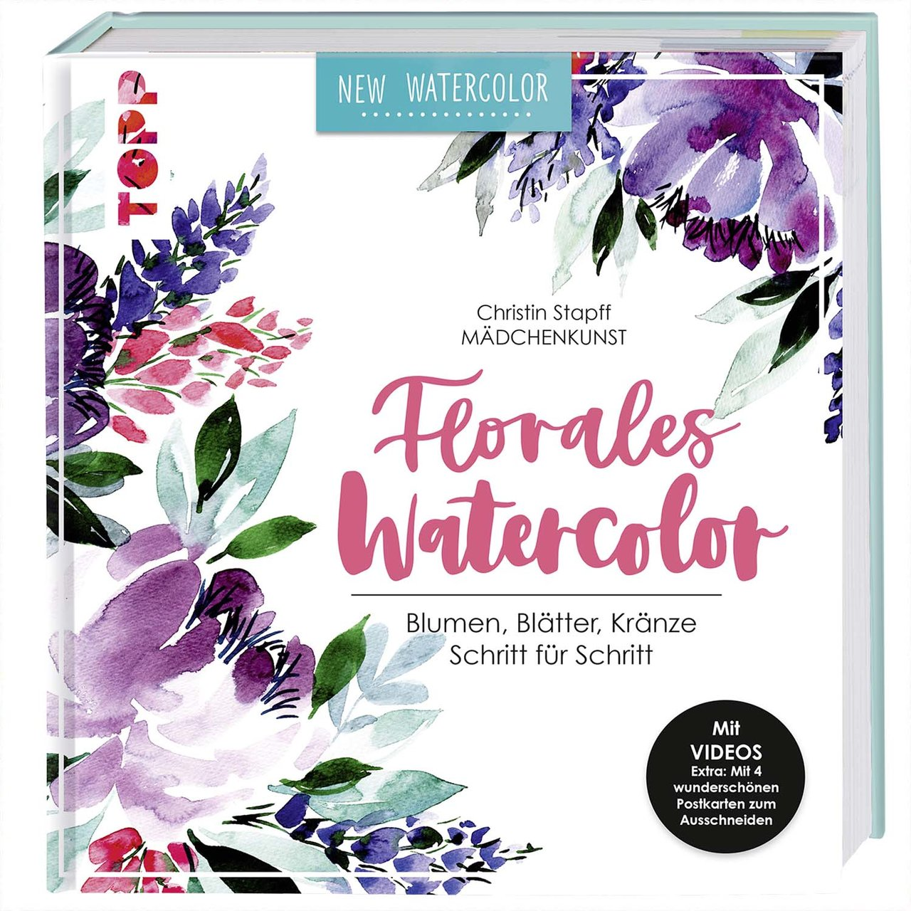 TOPP Florales Watercolor von TOPP