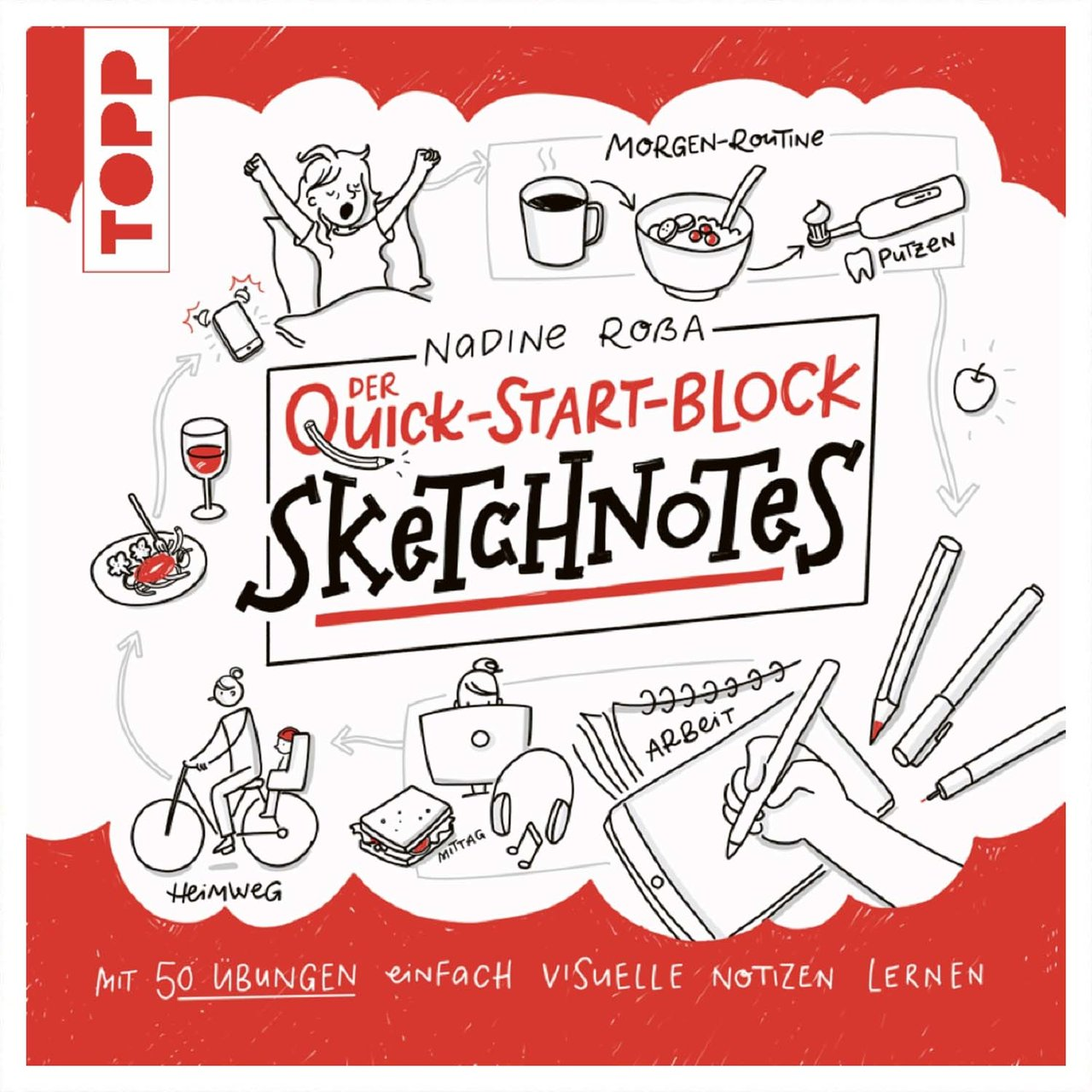 TOPP Sketchnotes Quicks-Start-Block von TOPP
