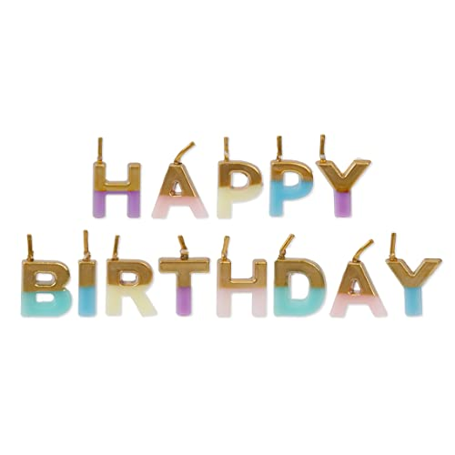 We Heart Birthdays Happy Birthday Candles von Talking Tables