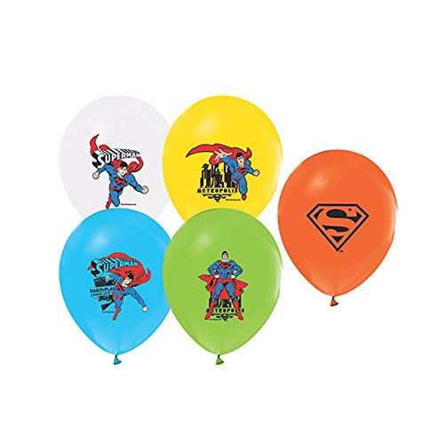 Superman Party Ballons,10 Stk von Torten Deko Shop
