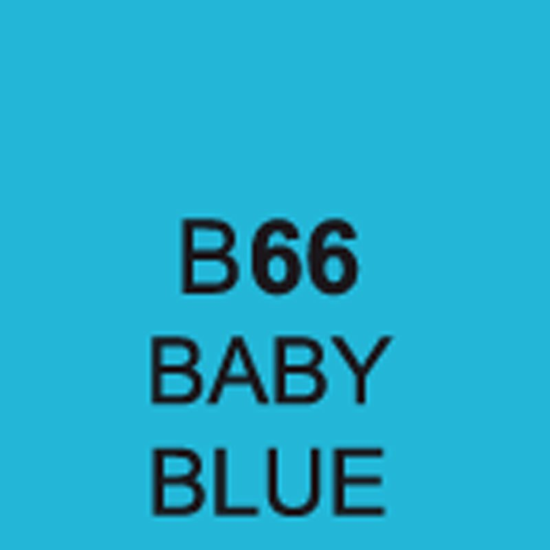 TOUCH Twin Brush Marker Baby Blue B66 von Touch