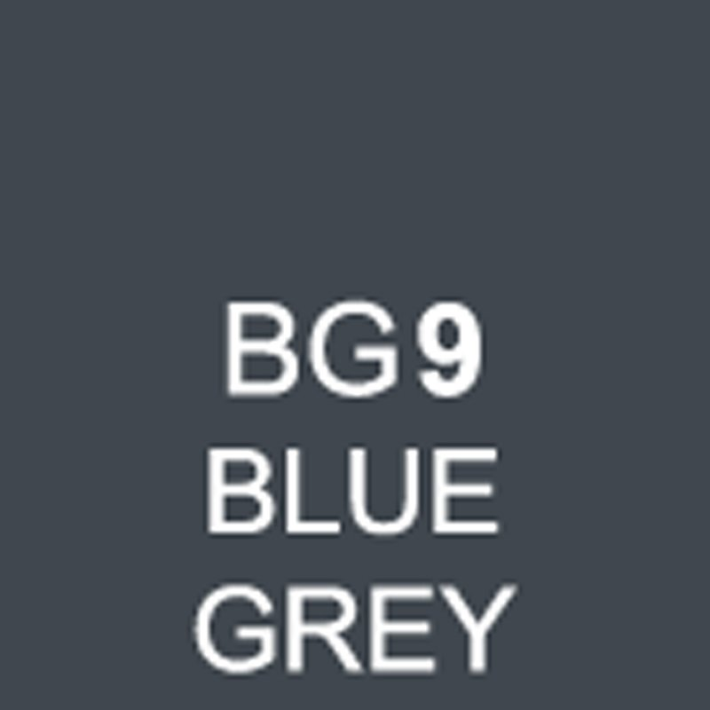 TOUCH Twin Brush Marker Blue Grey BG9 von Touch