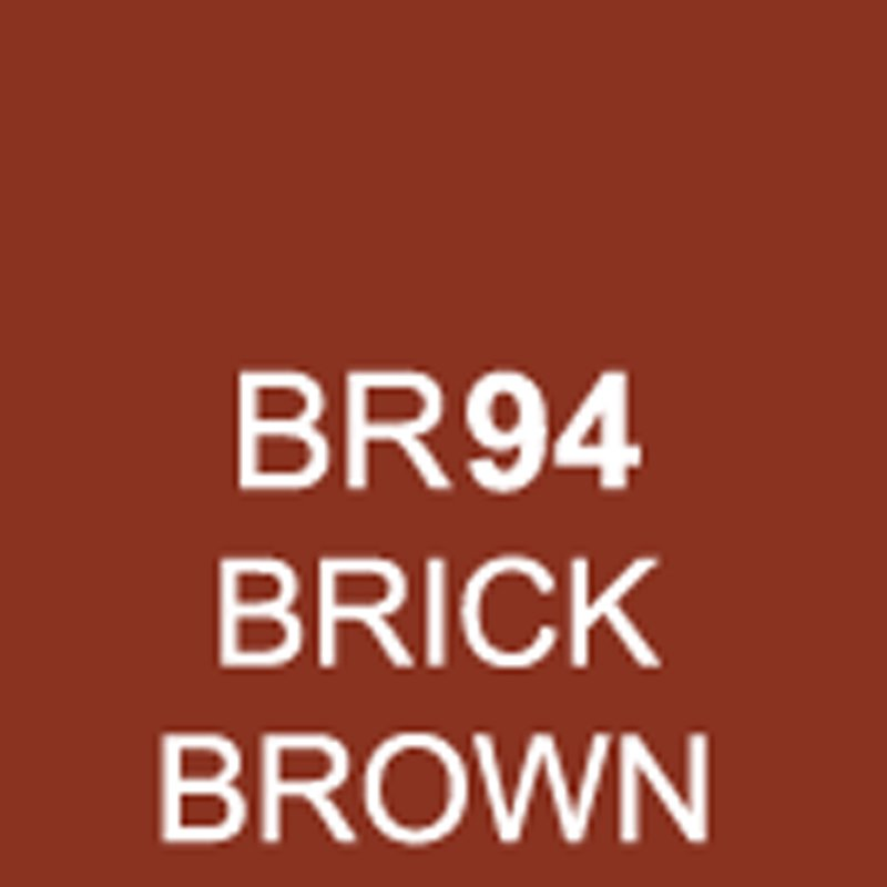TOUCH Twin Brush Marker Brick Brown BR94 von Touch