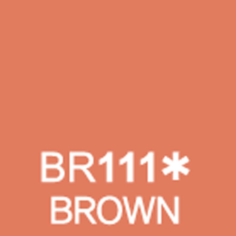 TOUCH Twin Brush Marker Brown BR111 von Touch
