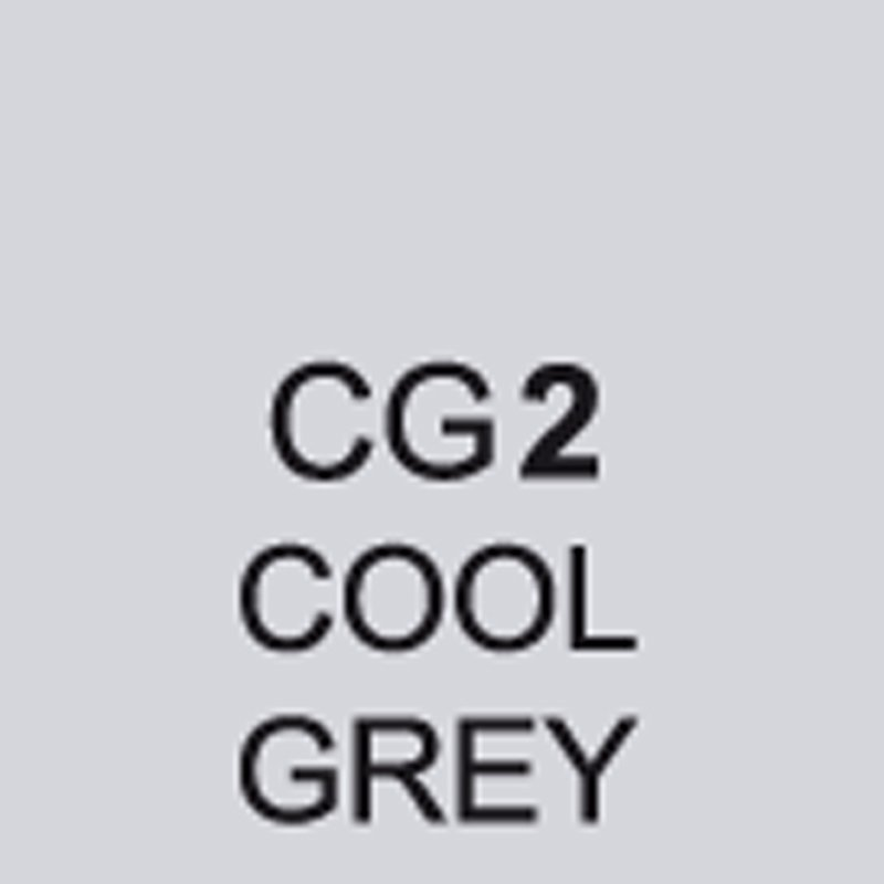 TOUCH Twin Brush Marker Cool Grey CG2 von Touch