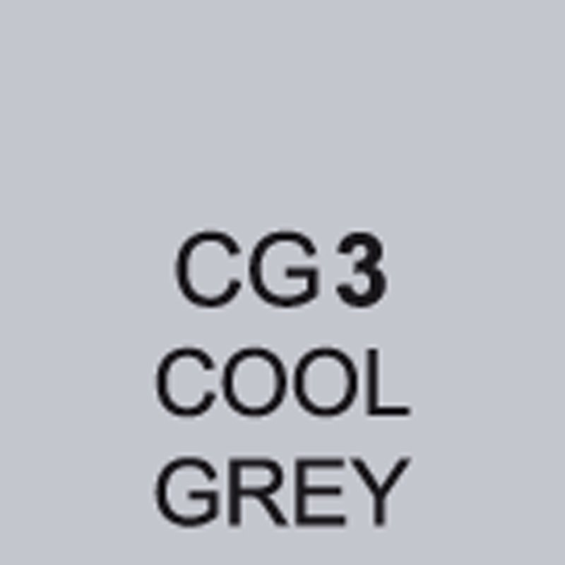TOUCH Twin Brush Marker Cool Grey CG3 von Touch
