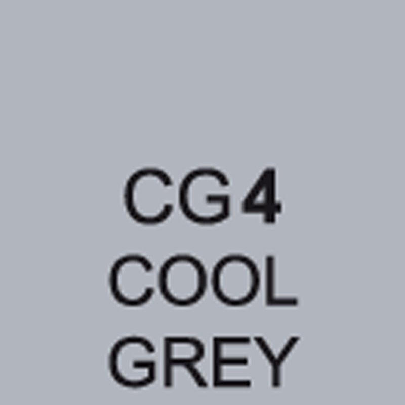 TOUCH Twin Brush Marker Cool Grey CG4 von Touch