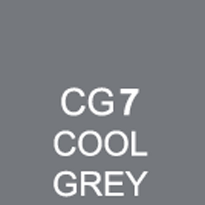 TOUCH Twin Brush Marker Cool Grey CG7 von Touch