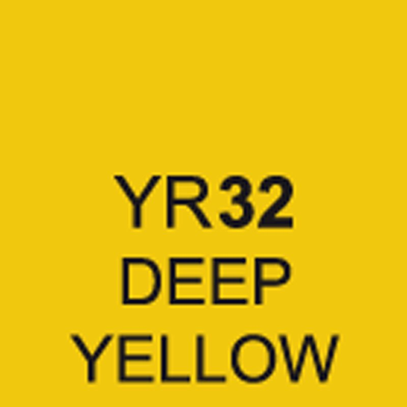 TOUCH Twin Brush Marker Deep Yellow YR32 von Touch