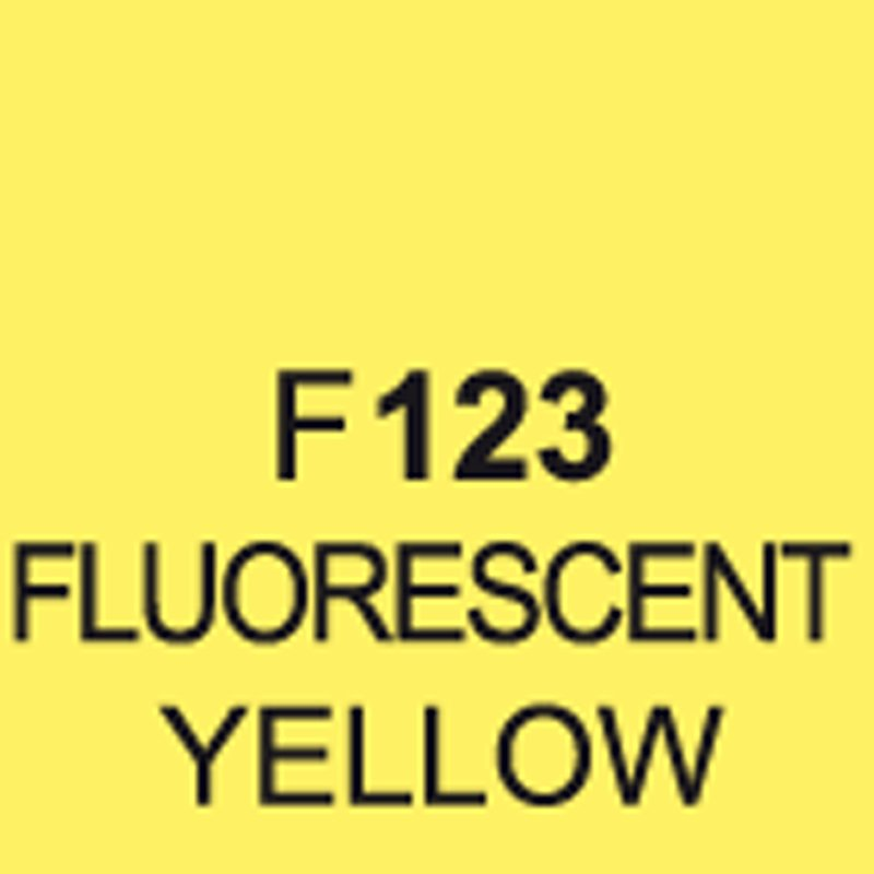 TOUCH Twin Brush Marker Fluorescent Yellow F123 von Touch
