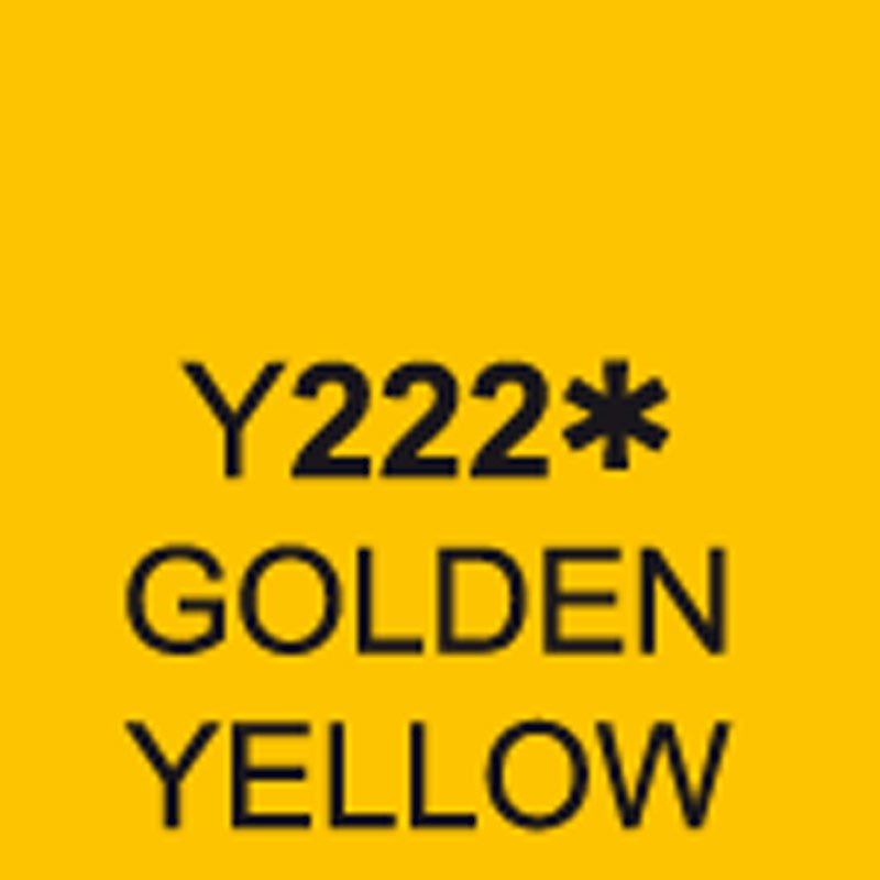 TOUCH Twin Brush Marker Golden Yellow Y222 von Touch