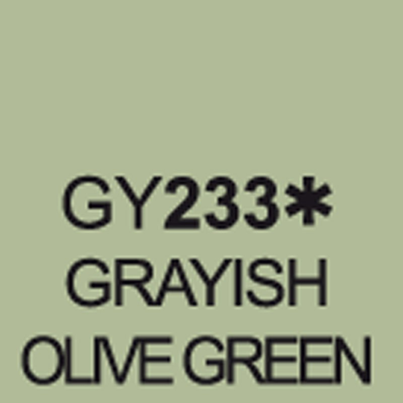 TOUCH Twin Brush Marker Grayish Olive Green GY233 von Touch