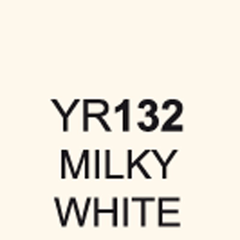 TOUCH Twin Brush Marker Milky White YR132 von Touch