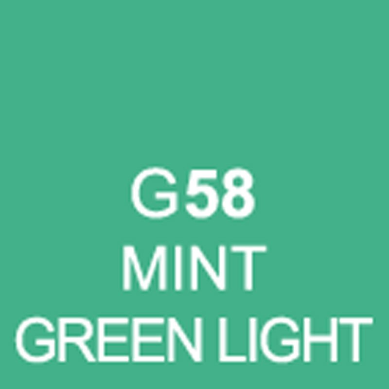 TOUCH Twin Brush Marker Mint Green Light G58 von Touch