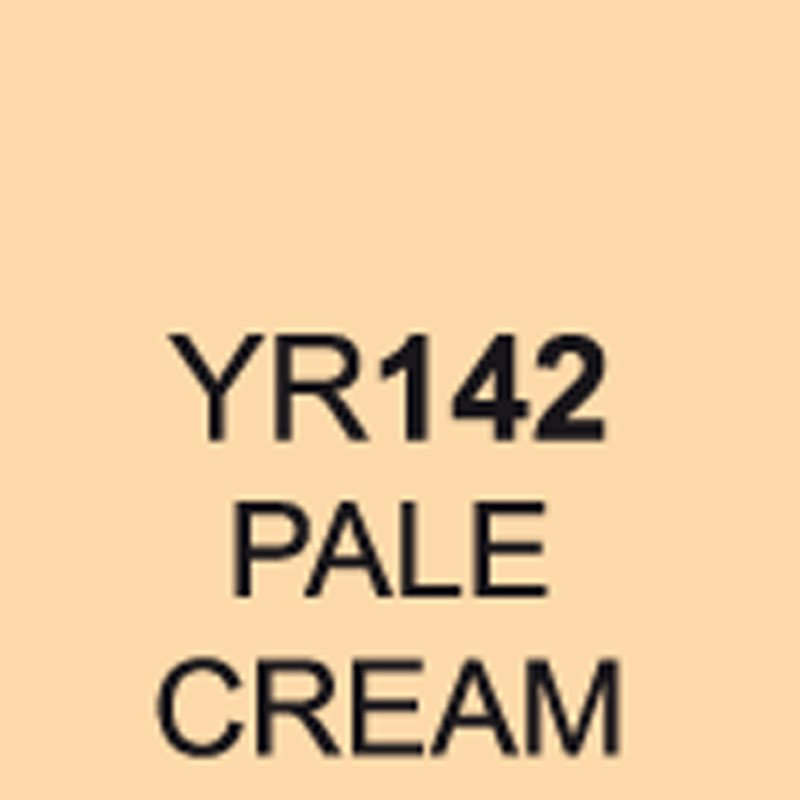TOUCH Twin Brush Marker Pale Cream YR142 von Touch