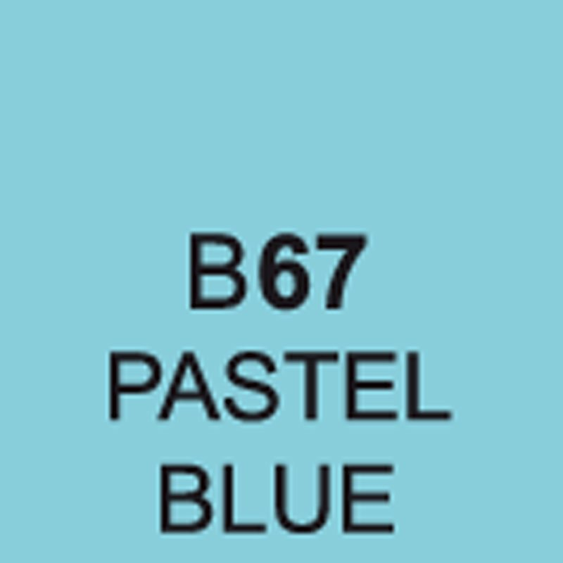 TOUCH Twin Brush Marker Pastel Blue B67 von Touch