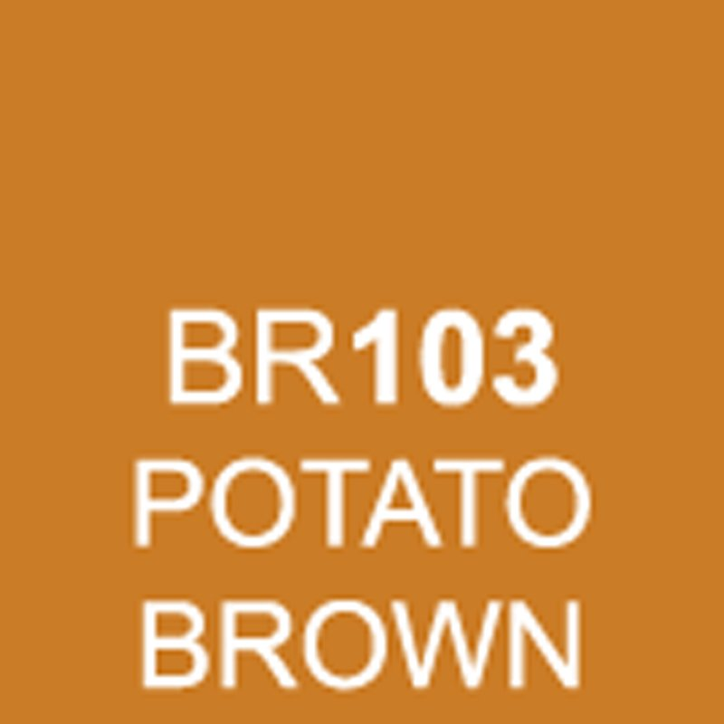 TOUCH Twin Brush Marker Potato Brown BR103 von Touch