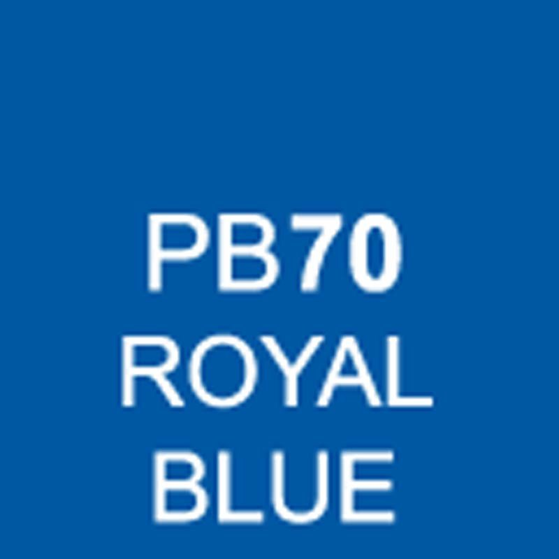 TOUCH Twin Brush Marker Royal Blue PB70 von Touch