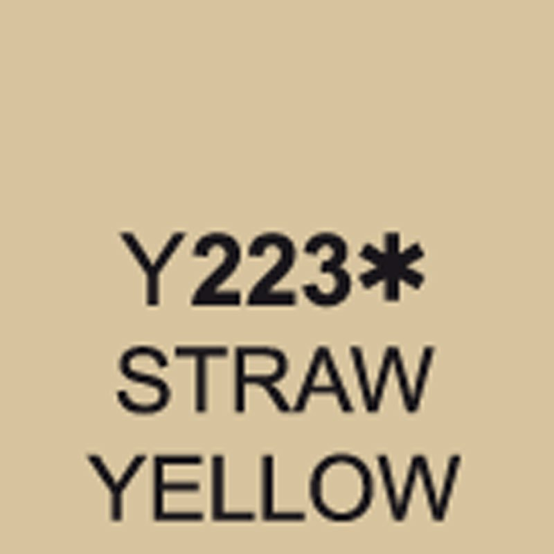TOUCH Twin Brush Marker Straw Yellow Y223 von Touch
