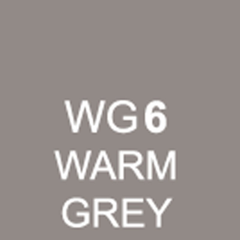 TOUCH Twin Brush Marker Warm Grey WG6 von Touch