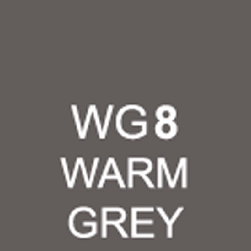TOUCH Twin Brush Marker Warm Grey WG8 von Touch